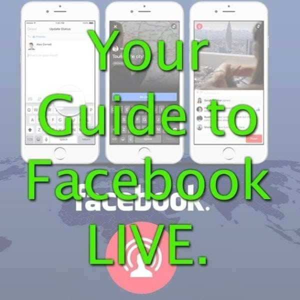 Your Guide to Facebook Live - Stream to your Audience Spade Design image 1