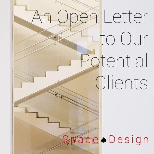 An Open Letter to Our Potential Clients Spade Design image 4