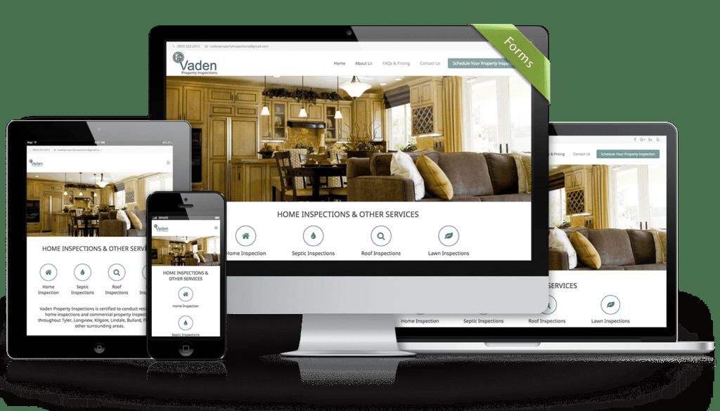 Tyler Web Design Vaden-Property-Inspections-Web-Design-By-Spade-Design