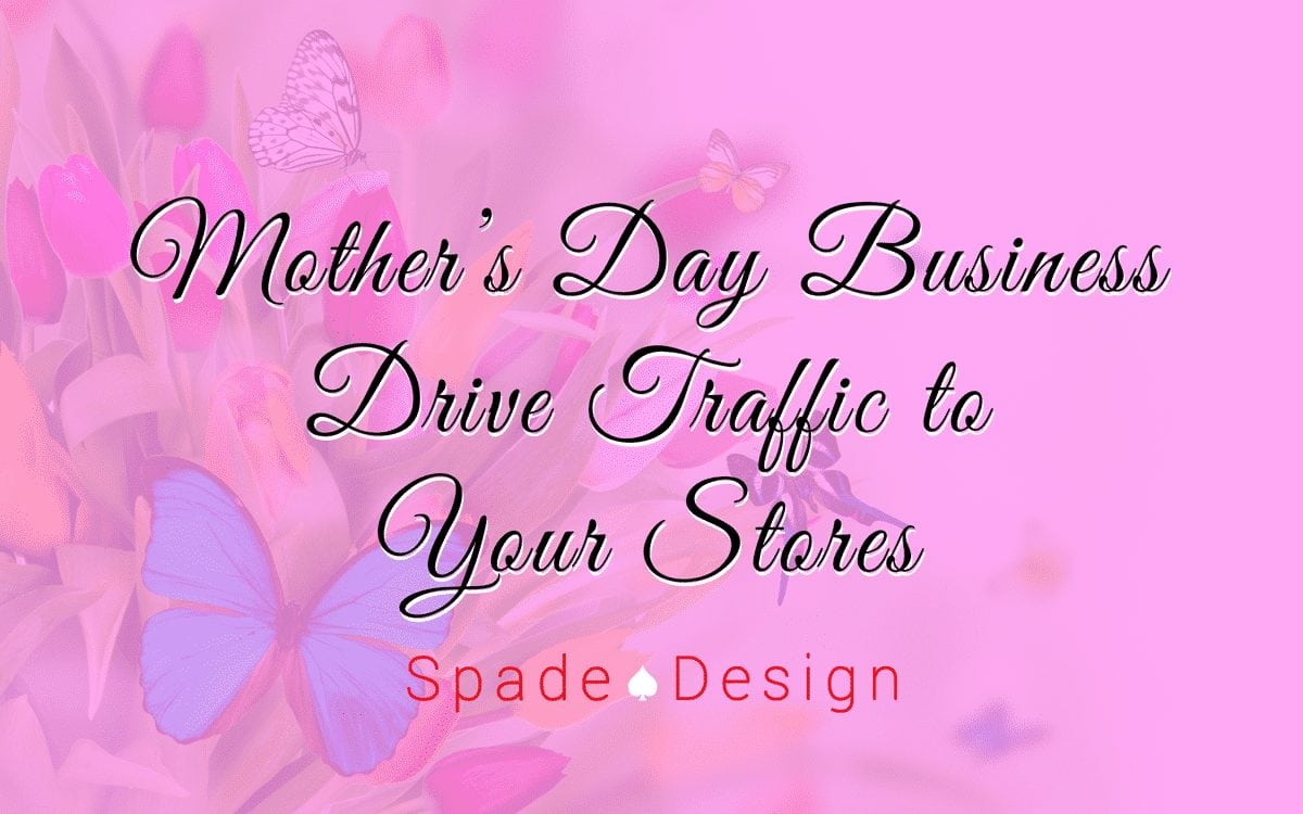 Mother's Day Business Spade Design