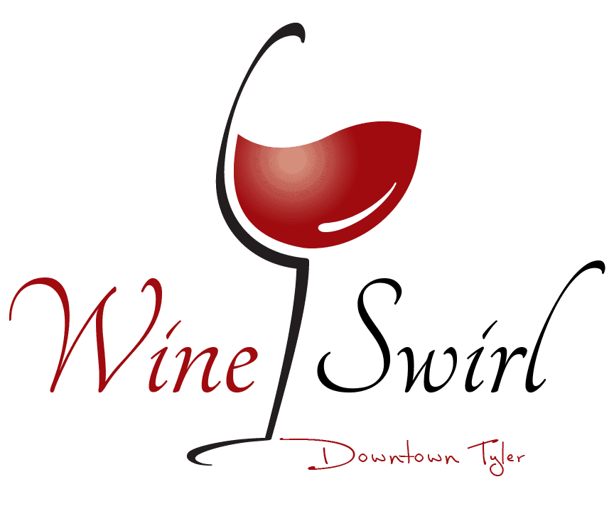 Brnading Logo Design by Spade design Downtown Tyler Wine Swirl Logo Design By Spade Design Tyler