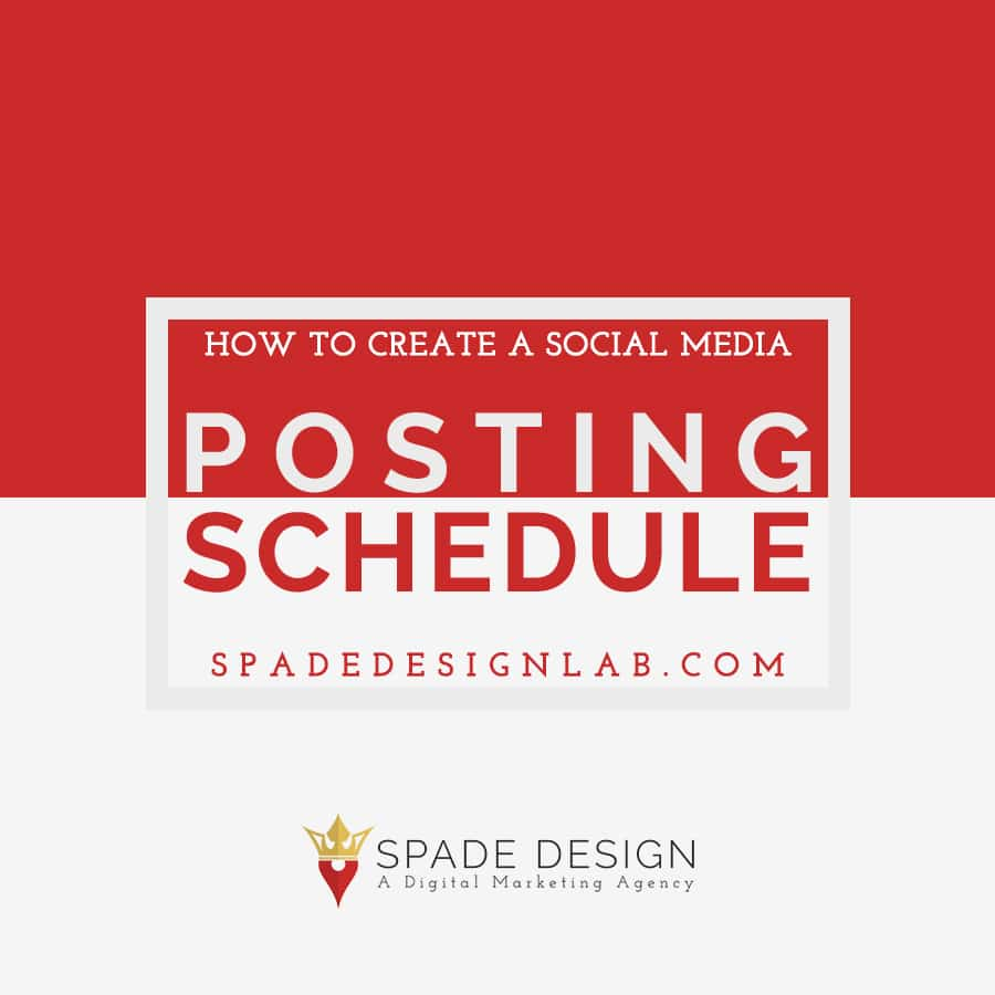How to Create a Social Media Posting Schedule Spade Design image 3