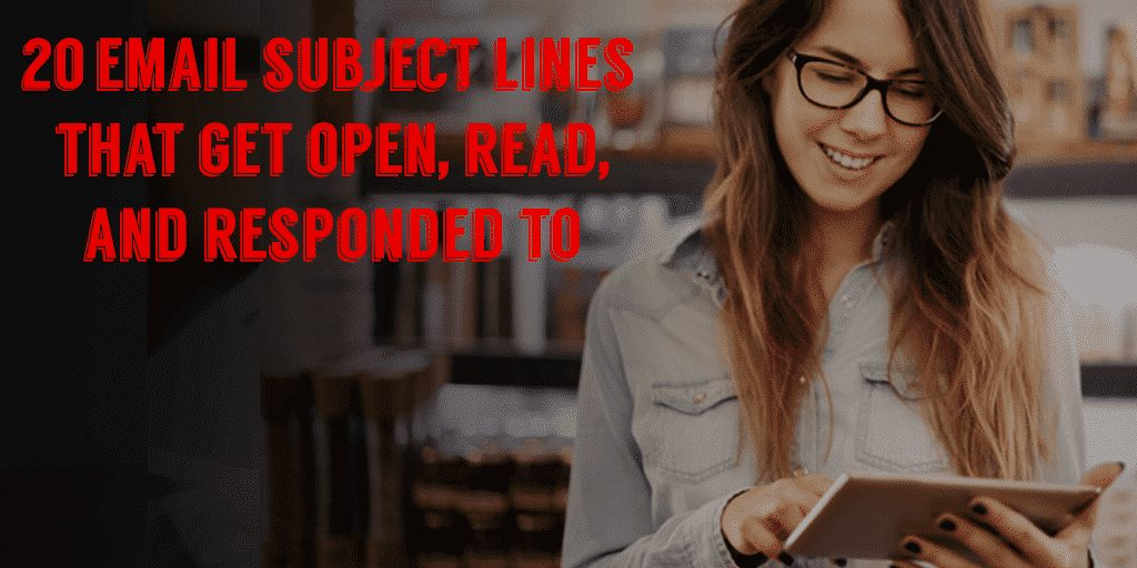 20 Sales Email Subject Lines That Get Opened, Read, and Responded Spade Design
