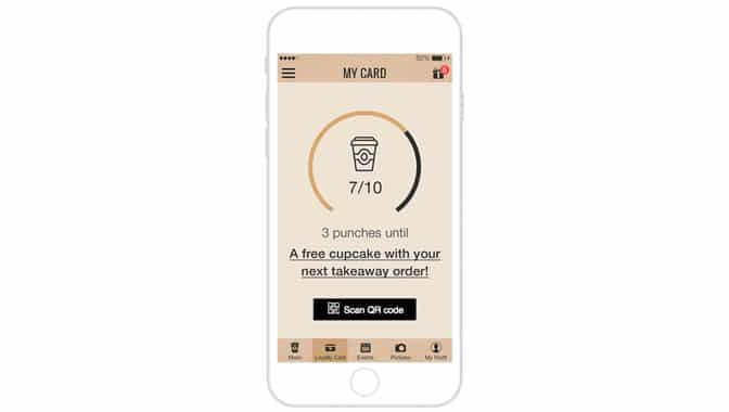 Loyalty Card App: How To Pick a Validation Process - Mobile App Design