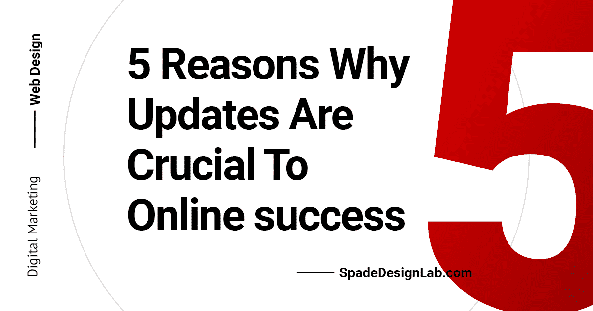 5 Reasons Why Monthly Updates Are Crucial To Online Success Spade Design image 1