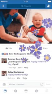 facebook text delight text animation mothers day