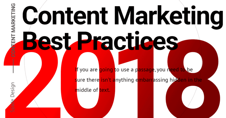 Content Marketing Best Practices: Content Writing in 2018 Spade Design image 1