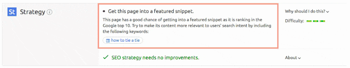 Content Marketing Best Practices: Content Writing in 2018 - featured snippets, with actionable recommendations