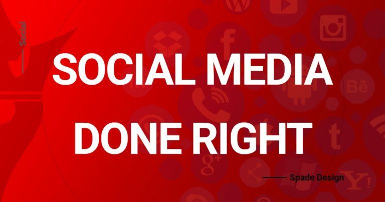 Social Media Management Done Right Spade Design image 2