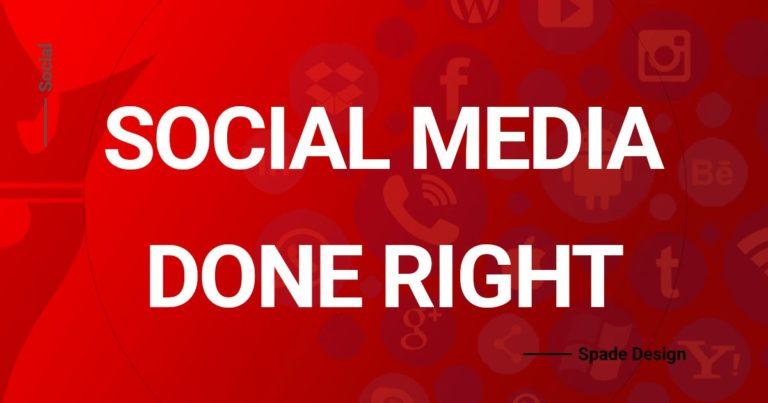 Social Media Management Done Right Spade Design image 2
