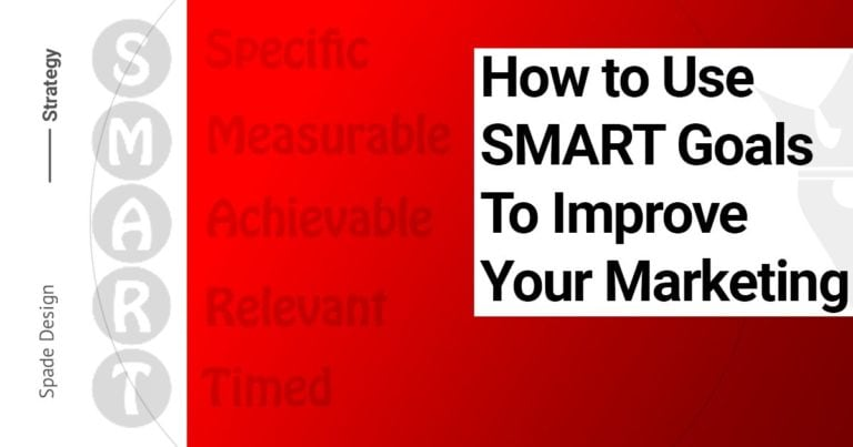 How to Use SMART Goals to Improve Your Marketing Spade Design image 1