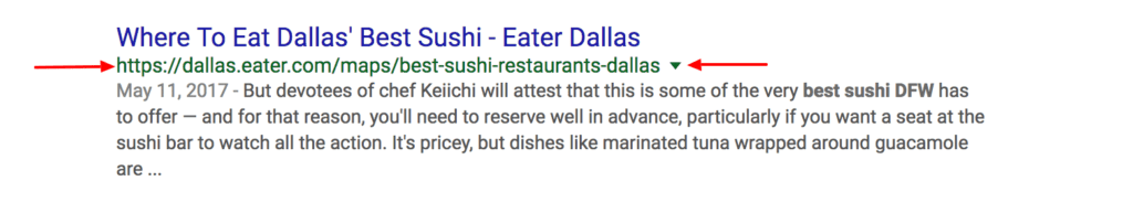 On Page SEO Checklist Blogging for People and Search Engines-best sushi in dallas