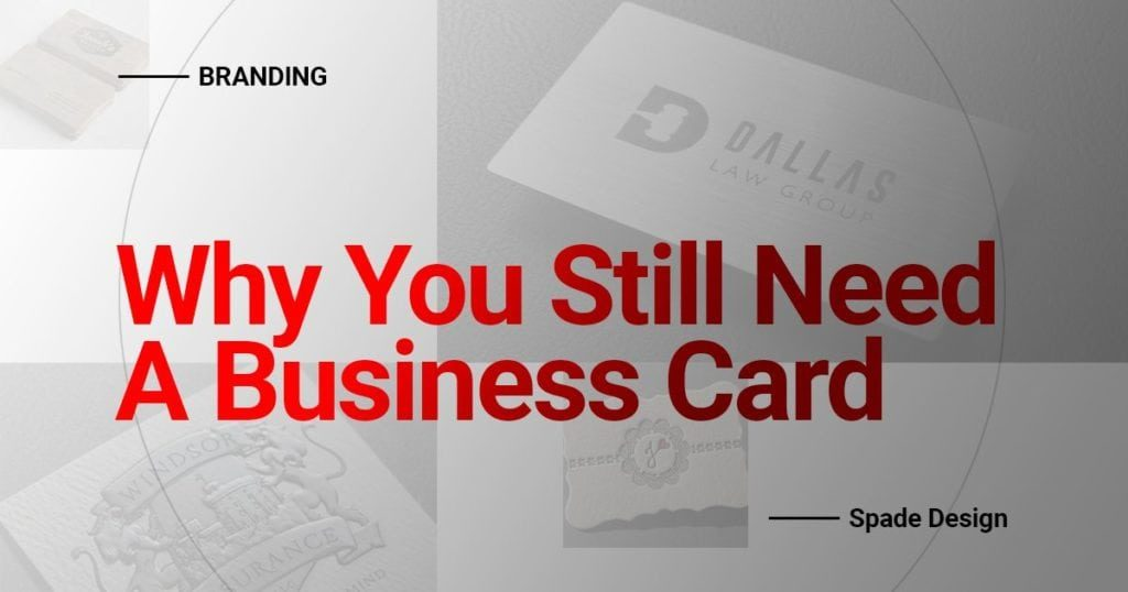 Why You Still Need A Business Card Spade Design image 6