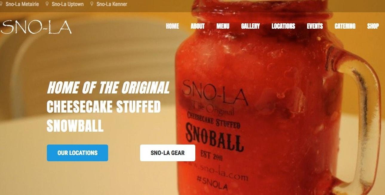 SNOLA snowballs
